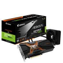 GigaByte GV-N108TAORUSX-W-11GD AORUS GTX 1080 Ti Waterforce Xtreme Edition 11G Graphics Card